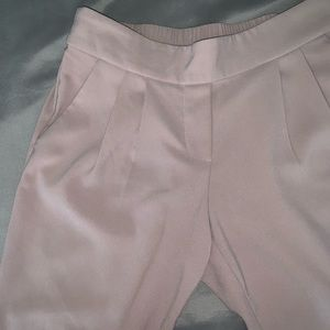 Willi Smith Muted Dusty Pink Pleated Pants